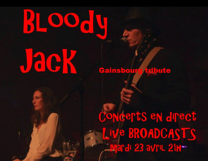 THE BLOODY JACK (repet Live) 23/04/19