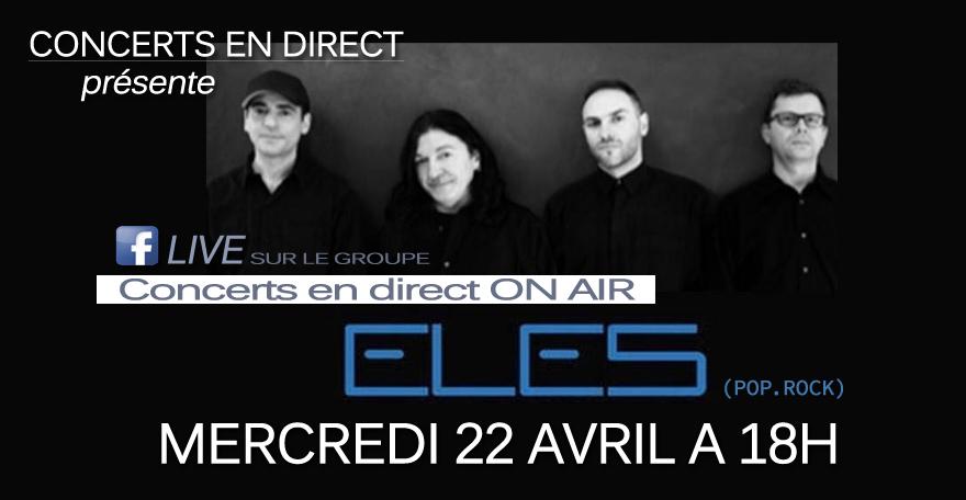 ELES – pop/rock – live du 22/04/20