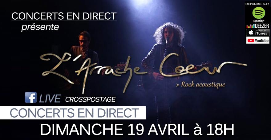 L'ARRACHE COEUR 19/04/20