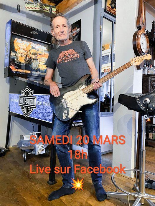 Didier Wampas (Les Wampas) – live Facebook du 20 mars 2021
