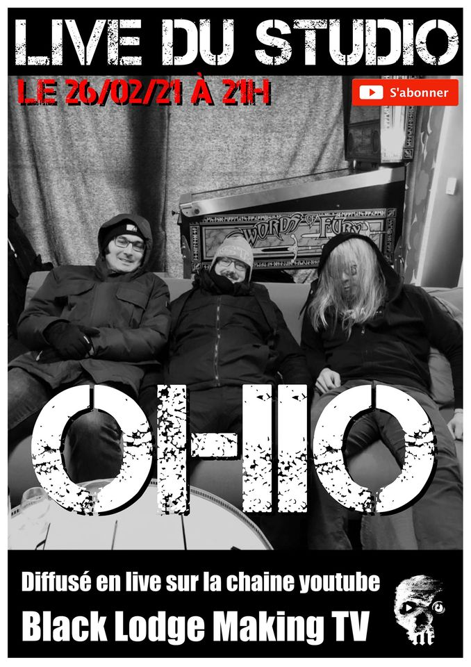 OHIO – Live from Black Lodge Making 26/02/21