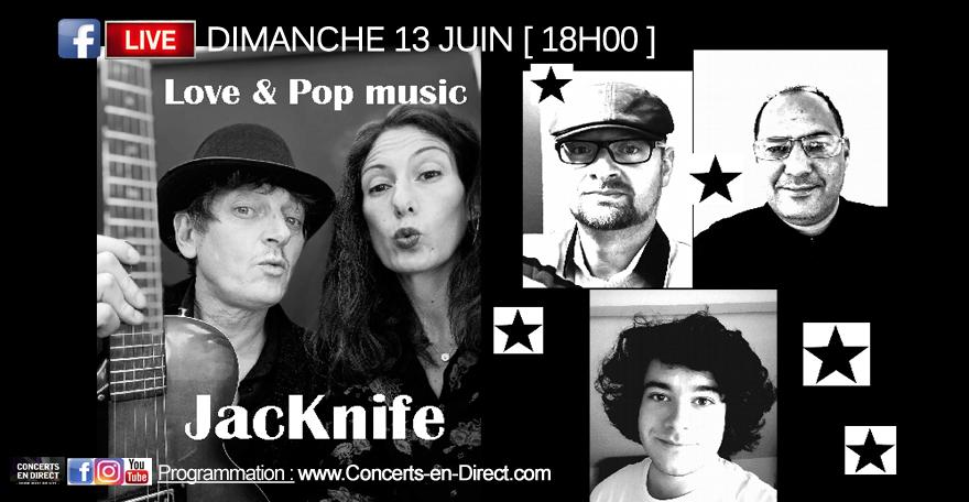 Concert en direct : JacKnife & The Honey Pie (Tribute Mc.Cartney)
