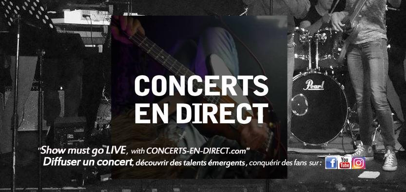 CONCERTS EN DIRECT - Promotion des artistes émergents et de leurs événements live-stream / sorties d'albums..